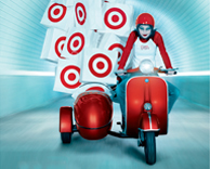 advertising: target value print ads and outdoor billboards