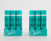 product/packaging design: revlon charlie SRP packaging design