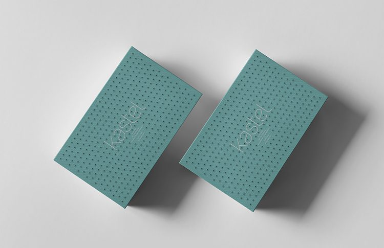 product/package design: kastel shoebox packaging design