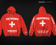 product design: wardements + pamela anderson foundation limited edition apparel collaboration