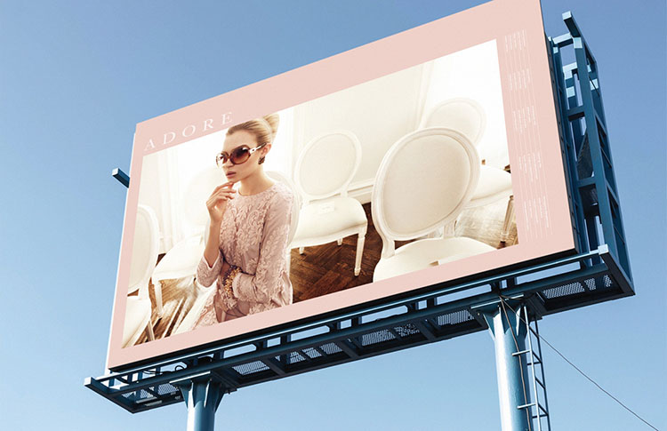adore japan billboards fashion advertising agency new york