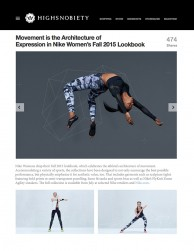 press: highsnobiety on nike architecture of the body
