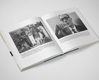 editorial/art direction: allen ginsberg memoir of the beat era book design