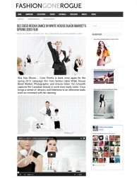 press: whbm the heart of workwear TV commercial featured on fashion gone rogue
