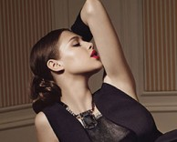 advertising: adore campaign featuring anais pouliot
