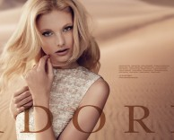 advertising: adore fashion campaign featuring model patricia van der vliet