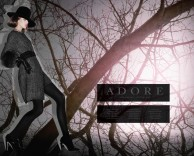 advertising: adore fall / winter with model shannan click