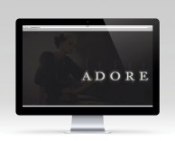digital: adore website
