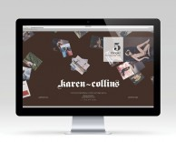 digital: Karen Collins website development