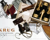 le cabinet de curiosités: the global advertising campaign for LVMH's uber luxury champagne krug