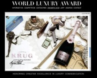 news: krug campaign wins a world luxury award