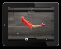 mobile app: nike be free ipad/iphone app development