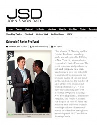 press: gatorade g series pro event as featured on jsd