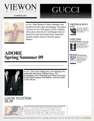press: adore campaign starring model tanya dziahileva featured on view on fashion