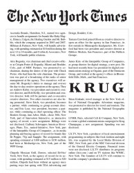 press: LVMH krug selects ceft and company featured in the new york times