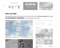 press: nike be free featured in feel desain