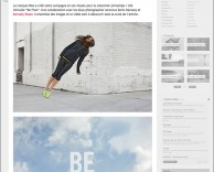 press: nike be free featured on fubiz