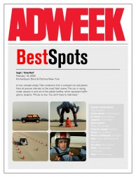 press: target, one of the best spots according to adweek