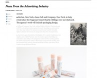 Press: as featured in NY Times ceft and company to reintroduce revlon's iconic brand charlie