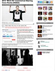 press: whbm a musical odyssey tv commercial featured in the huffington post