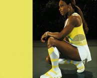 collateral: nike serena williams card design