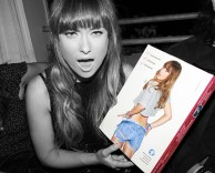 events: nylon magazine denim issue launch event with actress olivia wilde