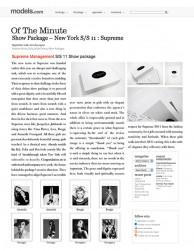 press: supreme kits featured on models.com