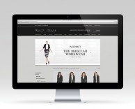 digital: modular e-commerce website for white house black market